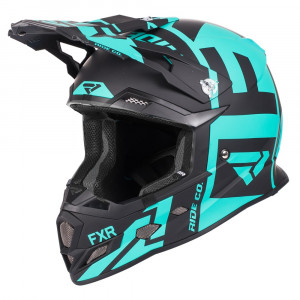 FXR Boost Clutch Helmet Svart/Mint