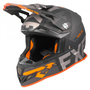 FXR Boost Evo Helmet Svart/Orange