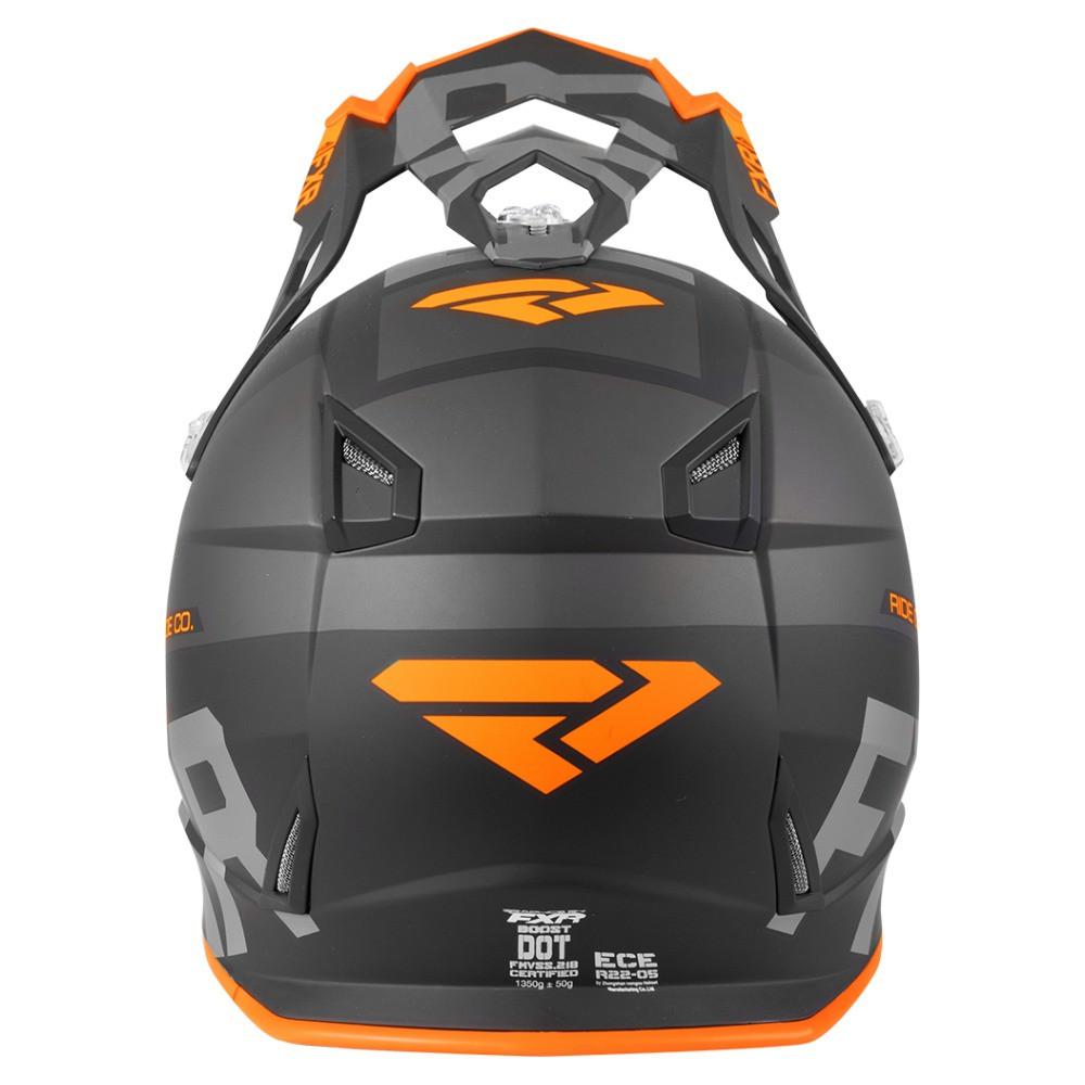 FXR Boost Evo Helmet Svart/Orange