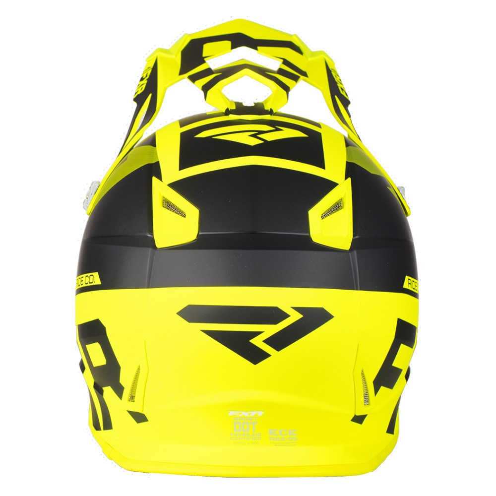 FXR Boost Evo Helmet Svart/Hi Vis