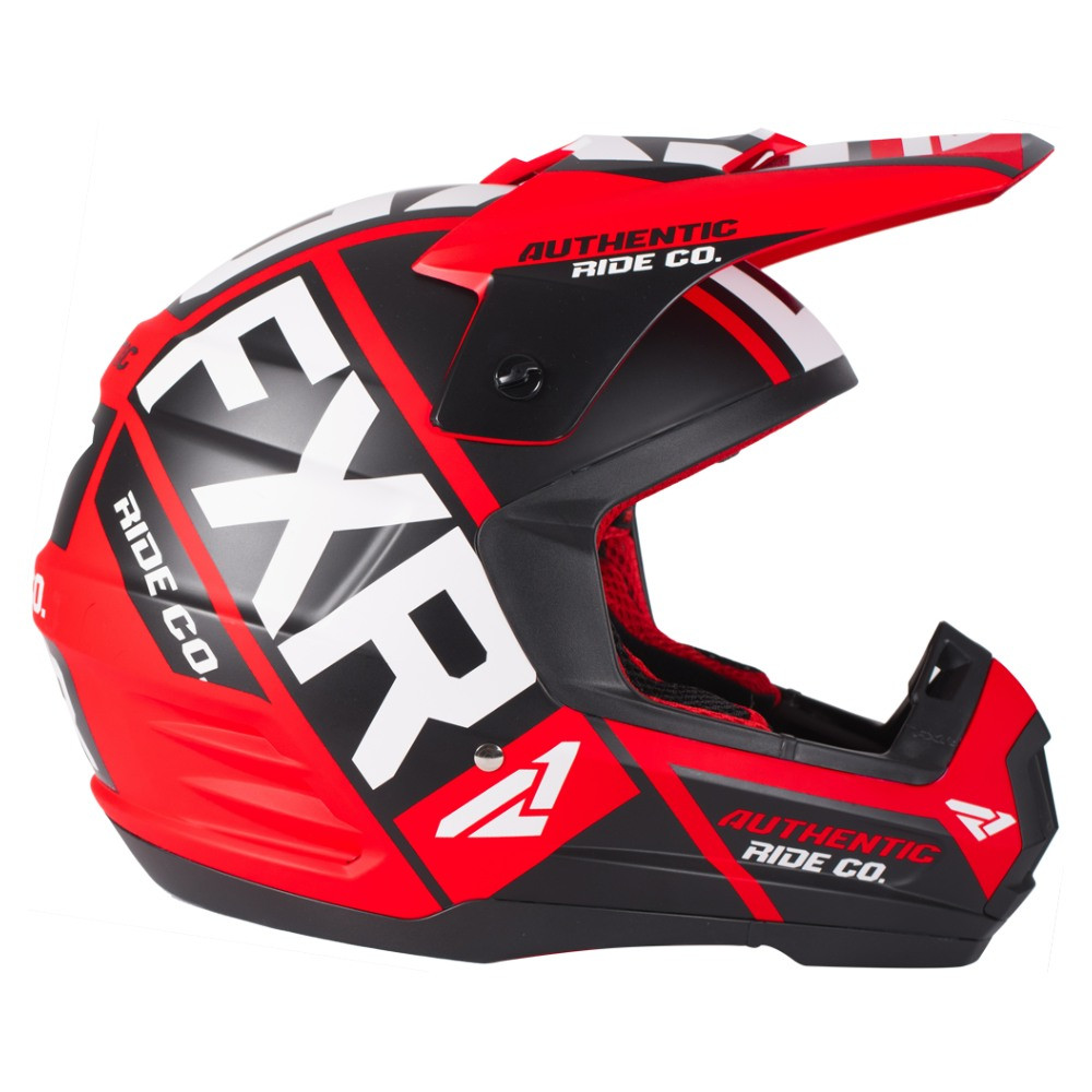 FXR Torque Evo Helmet Röd/Svart