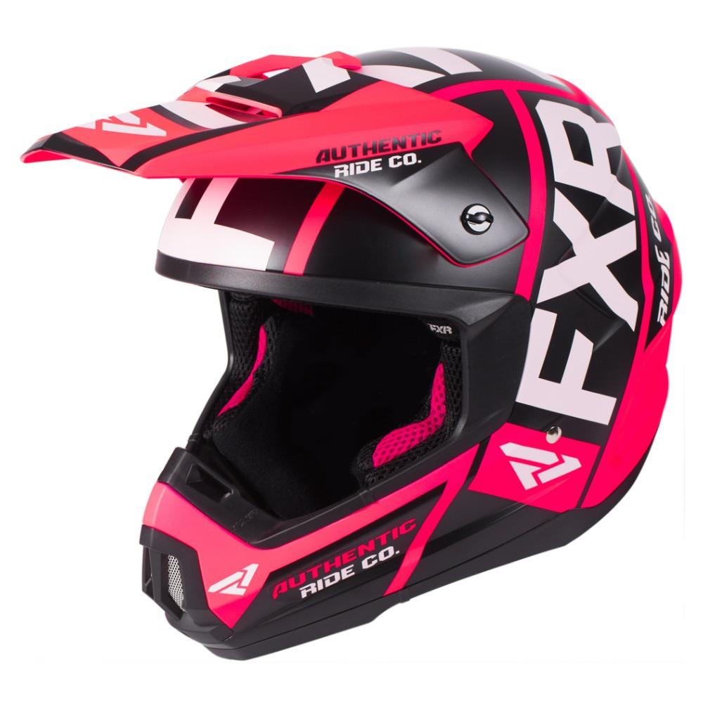 FXR Torque Evo Helmet Coral/Svart