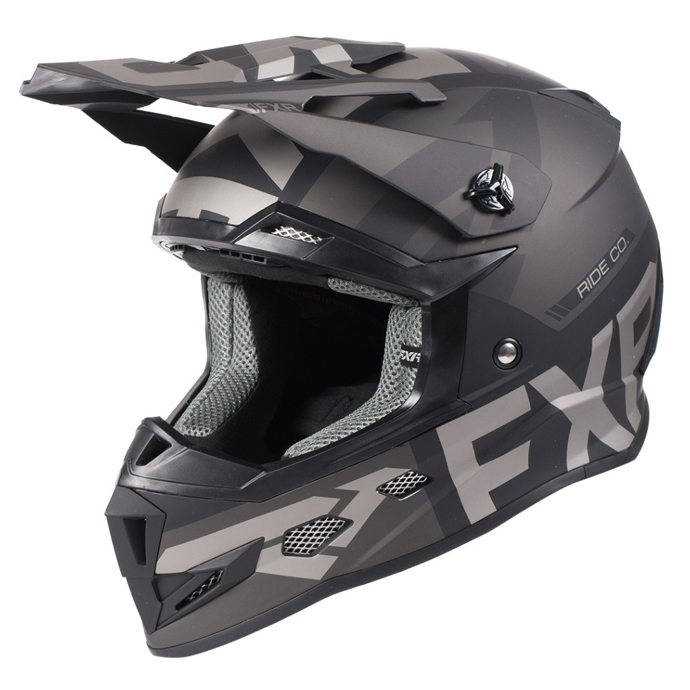FXR Youth Boost Evo Helmet Black Ops