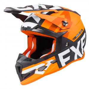 FXR Youth Boost Evo Helmet Svart/Orange