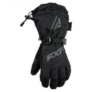FXR Fusion Skoterhandske Svart/Charcoal
