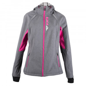 FXR Pulse Softshell Jacka Grå Heather/Fuchsia
