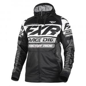 FXR Race Division Tech Hoodie Svart/Vit