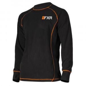 FXR Pyro Thermal Långärmad Tröja Svart/Orange