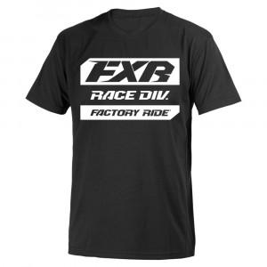 FXR Race Division T-Shirt Svart/Vit