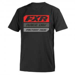 FXR Race Division T-Shirt Svart/Lava
