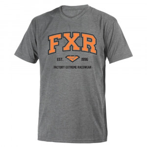 FXR Collegiate T-Shirt Grå Heather/Orange