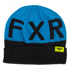 FXR Helium Beanie Svart/Blå