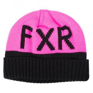 FXR Helium Beanie Svart/Elec Pink