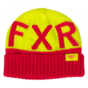 FXR Helium Beanie Röd/Hi Vis