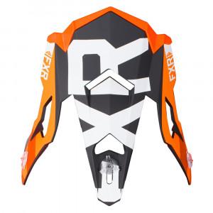 FXR Boost Evo Skoterhjälm Peak Svart/Orange