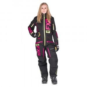 FXR Ranger Instinct Lite Skoteroverall Svart/Elec Pink/Hi Vis