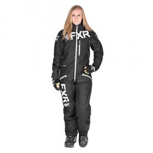 FXR Squadron Skoteroverall Svart/Charcoal/Vit