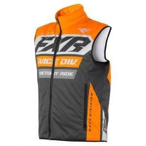 FXR RR Fodrad Vest Charcoal/Orange/Grå