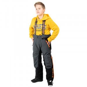 Sweep Racing Division Kids Byxa - Grå/Svart/Orange 130-140
