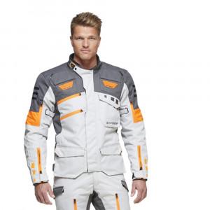 Sweep GPX Mc Jacka Textil Ljusgrå/Orange