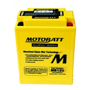 Motobatt Mc Batteru Underhållsfritt MB12U