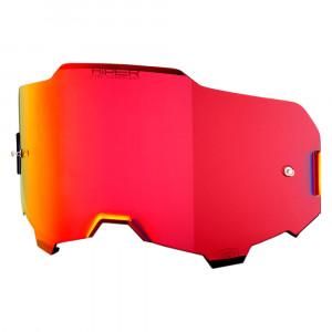 100% Armega Hiper Lins Mirror / Röd