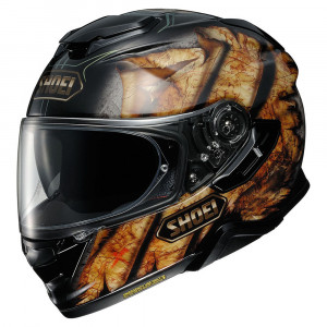Shoei GT-Air 2 Deviation Integral Mc Hjälm Svart/Röd