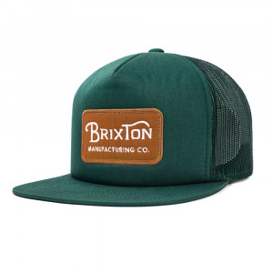 Brixton Grade Mesh Cap Grön