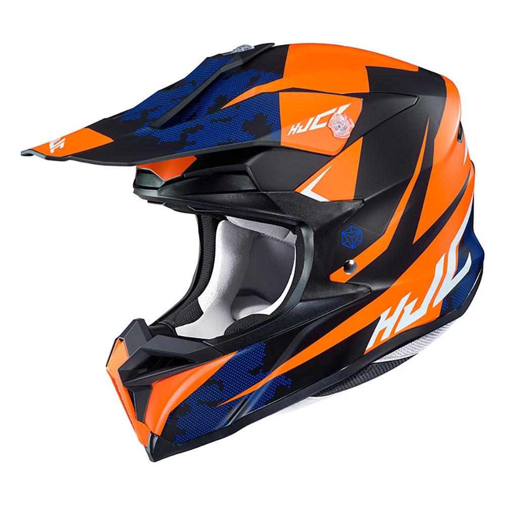 HJC Hjälm I50 Tona Svart/Orange MC7SF