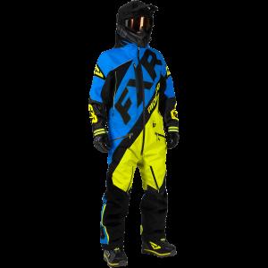 FXR M CX Lite Skoteroverall Blue/Hi Vis/Svart