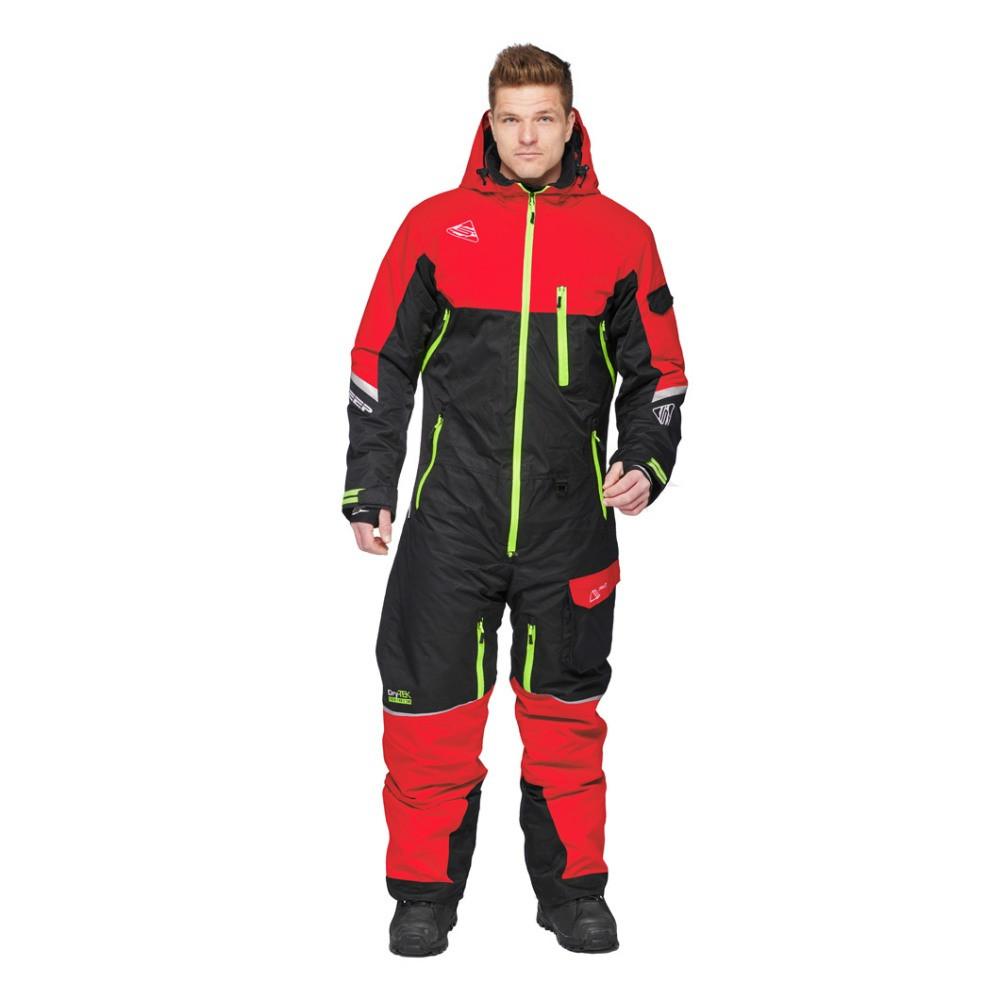 Sweep Snowcore CX Skoteroverall Svart/Röd