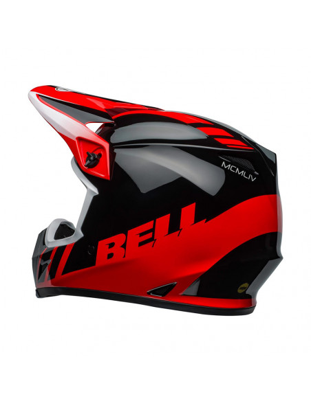BELL MX-9 MIPS DASH Black/Red