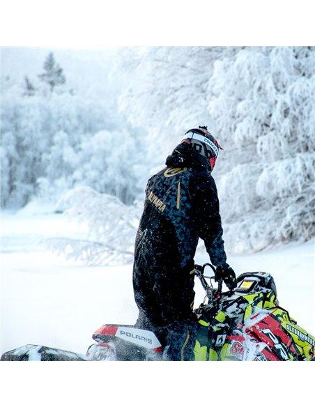 Olympia Ice Peak Laminerad Skoteroverall Svart/Camo
