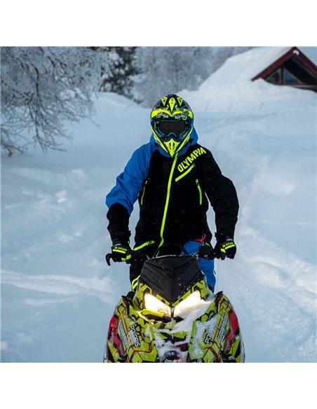 Olympia Ice Peak Laminerad Skoteroverall Svart/Blå
